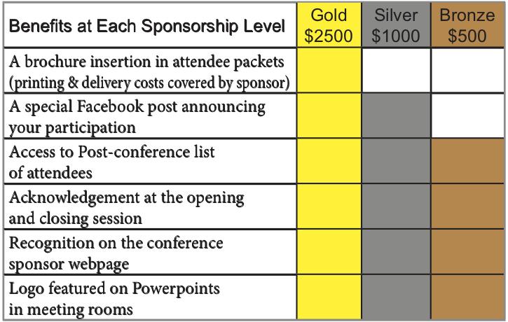 Sponsorship Table